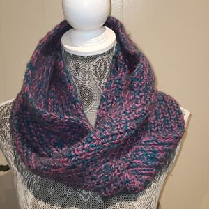 Andes Gifts knit infinity scarf.